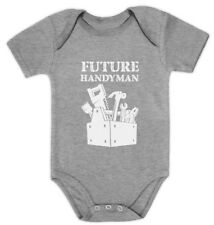 Future Handyman Funny Cute Baby Grow Vest Baby Bodysuit Baby Shower Gift