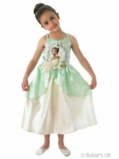 DISNEY PRINCESS AND THE FROG FANCY DRESS COSTUME GIRLS COSTUME AGE 3-8 DRESS