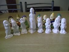 snow white and the seven dwarfs paint your own disney figures