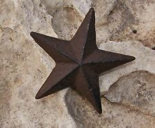 """Star Nail Cast Iron 3"""" Home Garden Country Rustic Western Primitive Decor #121"""