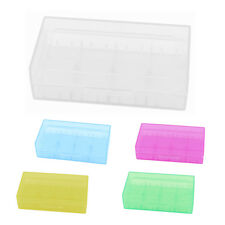 Hard Plastic Case Holder Storage Box for 18650 16430 CR123A Battery