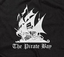 THE PIRATE BAY T-SHIRT funny offensive rude internet torrent file sharing meme