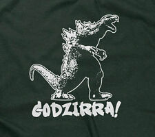 GODZIRRA T-SHIRT funny saying godzilla movie novelty sarcastic humor mens guys
