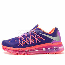 Nike Air Max 2015 Lava GS [807620-500] Running Purple/Silver-Fuchsia