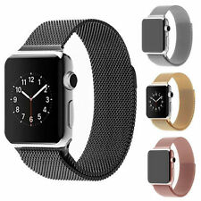 Stainless Steel Magnetic Loop Strap Watch Band For Apple Watch Iwatch 38mm /42mm