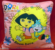"PILLOW & DORA EXPLORER DISNEY DESIGN PILLOW SHEET TWO SIDE PRINT KIDS 16"" X 17"""