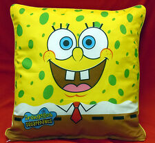 "PILLOW & PILLOW COVER SPONGEBOB TWO SIDE DISNEY DESIGN TODDLER 16"" X 17"""