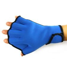 Hand Aid Training Paddle Water Sports Swim Frog Webbed Fingerless Glove New H11