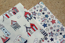 Chatham Glyn FABRICS HAPPY DAYS NAUTICAL PATCHWORK BUNDLE - 100% COTTON