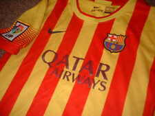 Barcelona Nike Lionel MESSI Boys Youths S M L XL Football Soccer Shirt Jersey