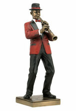 Jazz Band Collection - Clarinet Player Sculpture Musician Statue-Valentine's Day