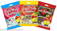 SWEETZONE 90g BAG JELLY FIZZY SWEETS VARIOUS VARIETIES 100% HALAL