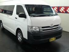 2008 TOYOTA HIACE COMMUTER AUTOMATIC 10 SEAT BUS WITH WHEELCHAIR LIFT - Y AW61QZ