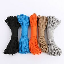 Paracord Parachute Cord Lanyard Rope 7 Core Strand Nylon Survival Outdoor 100ft