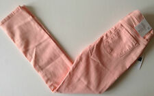 GAP Girl's High Waist Super Skinny Fit Jeans - CREAMY CORAL - 8-12 years - NEW