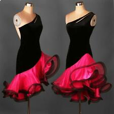 Latin Salsa Tango Cha cha Rumba Ballroom Competition Dance Wear Evening Dress e4