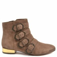 Sam Edelman Nolan Brown Suede Ankle Boots RRP£185