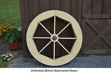 """Amish-Made 48"""" Waterwheel - Waterwheels Available in 9 Finishes"""