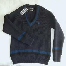 Fred Perry Heavy Knit Tennis Style Jumper - BNWT New - 40 42 44 Medium Large XL