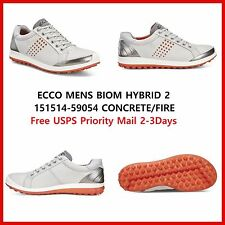 New Ecco Mens Golf shoes BIOM Hybrid 2 HM White Black EU 39 42 43 $200