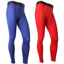 Mens Compression Base Layer Pants Tight Long Leggings Under Skin Gym Sports Gear