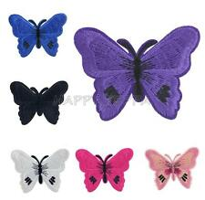 Butterfly Embroidered Motif Applique Iron Sewing ON Patch DIY Caft Accessories