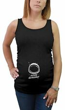 Future Astronaut Space Helmet Pregnancy Mom To Be Maternity Tank Top Tunic Gift