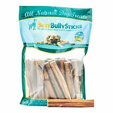 Supreme Best Bully Sticks - All Natural 6 inch Dog Treats / Chews 25 or 50 ct.
