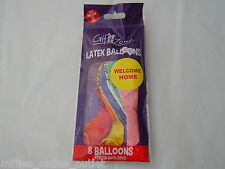 Welcome Home Balloons Party For Helium or Air x 8/16/24 Balloon