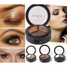 3 Colors Fashion Eyeshadow Natural Smoky Cosmetic Eye Shadow Palette Set Make Up