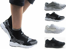 NEW MENS BOYS RUNNING FITNESS GYM SPORT INSPIRED CASUAL TRAINERS SHOE SIZE 3 - 8