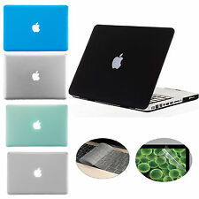 "3 in 1 Rubberized Hard Case Cover for Macbook Pro 15"" A1286 Glossy Display"