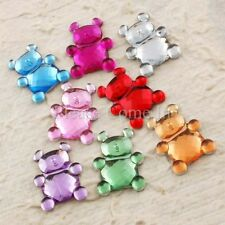 100 to 1,000 Teddy Rhinestones (15mm) Bling Gem