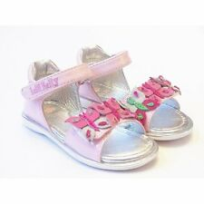 Girls Lelli Kelly Sandal With Butterfly | Patent Pink Leather | FREE GIFT