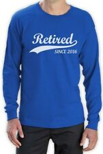 Retired Since 2016 - Retirement Gift Idea Novelty Long Sleeve T-Shirt Funny