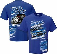 2016 DALE EARNHARDT JR #88 NATIONWIDE SLINGSHOT BLUE NASCAR COTTON TEE SHIRT