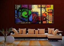 Modern Wall Decor Art Abstract Huge Oil Painting On Canvas Art painting 3pc