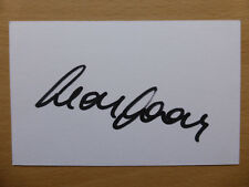 Hand Signed Football Index Cards *****O***** Page 1