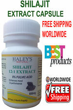 5% Fulvic Acid Shilajit Extract 12:1 Free WorldWide Shipping