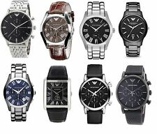 Emporio Armani Men's Wrist Watch Various Models