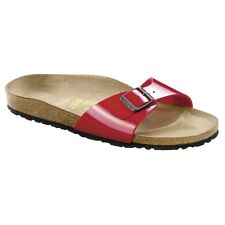 Birkenstock Madrid Sandals - Color Tango-Red - Birko-Flor patent