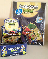 ANGRY BIRDS SPACE TRADING CARD GAME - CHOOSE; BINDER, CARDS &*, OR A FULL BOX