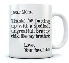Mother's Day Gifts ideas For Mom - Funny Coffee Mug Cool Novelty Tea Mug