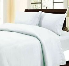 1000TC 100%EGYPTIAN COTTON SCALA LINEN WHITE SOLID,BEDDING'S EXTRA DEEP POCKET