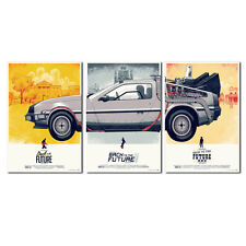 Back To The Future Poster Picture HD Print on Canvas Home Decor Art Painting