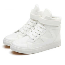 Fashion korea Canvas causal shoes high tops sneakers lace up Skateboarding size