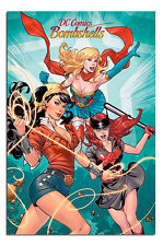 Poster - DC Comics Bombshells Group Poster New - Maxi Size 36 x 24 Inch