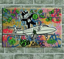 Alec Monopoly-NO.30,Handcraft Portrait Oil Painting on Canvas Painting 24x36inch