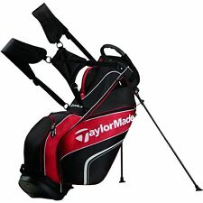 NEW 2016 Taylormade Golf Pro Carry Stand Bag 4.0 5-Way Men's Black/Whi/Red