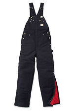 Carhartt R02 Duck Bib Overall Quilt Lined - Lined Work Overall